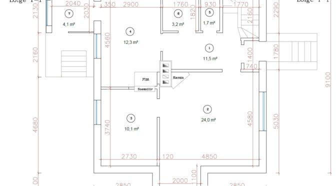 Hoonete mõõdistused ja inventariseerimine